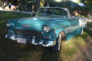 1955 Chevrolet Bel Air Convertible X by Brooklyn47