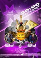 POSTER VIP Room by tobis007