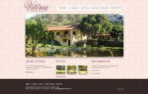 Salao Vitoria Website by LucasSandes