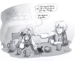 GND Flashback - Drunken bird-wizards by Pika-la-Cynique