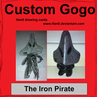 The Iron Pirate (Tfan0 Drawing Card #11) by tfan0
