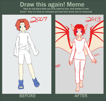 Draw This Again Meme - Ruyan by myfriends-nobody