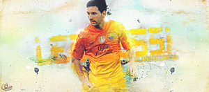Lionel Andres Messi by Hatem-DZ