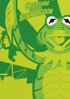 Creature from the Black Lagoon - Muppet Monsters by Gr8Gonzo