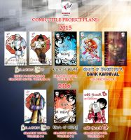 My comic Plans for 2015-2016 by lady-storykeeper