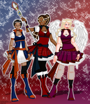 Spirit Aetis, Portis, and Angelis by erin-hime