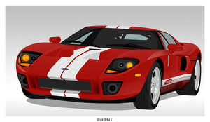 Ford GT by Namelessv1