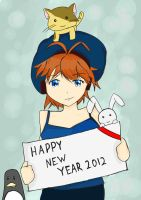 Happy new year by netnavi20x5