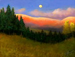 Sandia Moonrise by ghost549