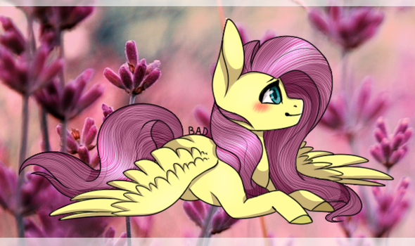 Fluttershy [Collab] by MintyBrush