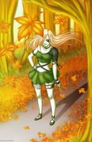 Kanea in Fall - Commision by SorceressDream