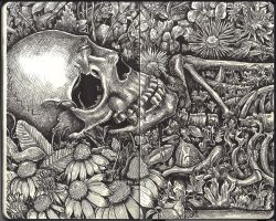 Sketchbook - life after death by keiross