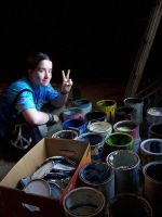 Peace And Buckets of Paint by Grayash9755