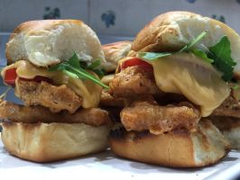 Beer Battered BLTs wCheese by brettddes