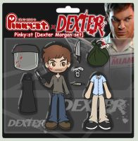 Dexter Morgan Pinky:st by GlamourKat