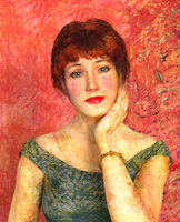 Portrait de l'actrice Jeanne Samary by n-i-c-l-a-s