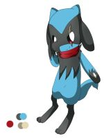 PHG ~ Craig The Riolu by Sammu-Desu