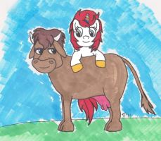MLP Denise and Eddie by colley
