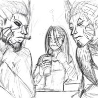 Beer_and a beautiful wiew_wip by Mistique89D