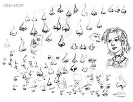 Nose Studies by ultorgabrihel