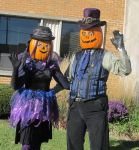Gourdon and Zuccia Pumpkinhead 2015 - 3a by Windthin