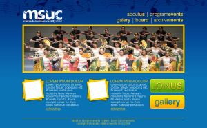 MSUC Webpages Prototype 01 by farlydapamanis