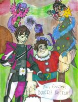 BookishDelight's Christmas Party by Gojira007