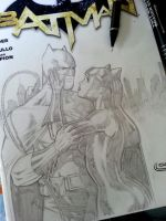 batman catwoman romance by Sajad126