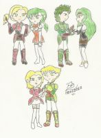Fire Emblem The Sacred Stones couples - Part II by FoxBluereaver