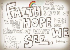 Faith is.... by yinsuanhey
