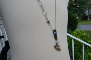 Derpy Bullet Shell cluster Necklace! by Iwasonceafairytale