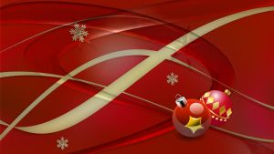 Christmas RedGlass by Frankief