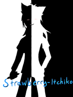 Black and white ID by Strawberry-Itchiko