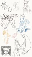 Doodle Dump - 51 of many by Shadow-Of-Nights