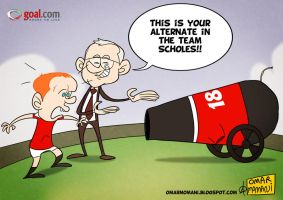Scholes Alternative by OmarMomani