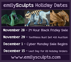 Holiday 2014 Dates by emilySculpts