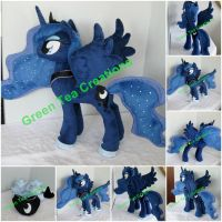 Princess Luna Plushie by GreenTeaCreations