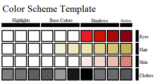 Annalises Color Scheme by dibandgazbrothersis