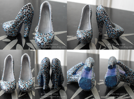 Monster High Shoes ~ Fur-Ocious Pumps by TifaTofu