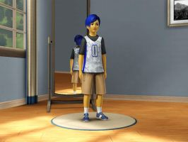 Sims 3 Equestria Girls - Young Flash Sentry pic 4 by Magic-Kristina-KW