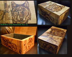 Completed Wolf StashBox by R-FireWriter