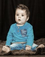 Little Boy in Blue by PascalsPhotography
