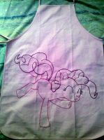 Pinkie Pie Party Apron by sparklepeep