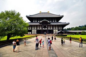 Todai-ji Temple by WhiteBook