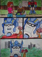 optimus learns something new by Meggz360