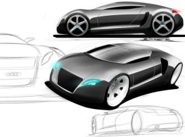 audi concept by p-sketch