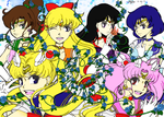 Sailor Moon Coloring For Contest! by DigidestinedAzukia