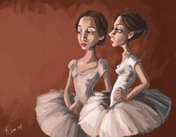 ballerinas by wdkimmy