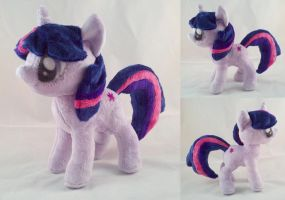 Twilight Sparkle Plush by dolphinwing