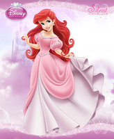 Disney Princesses - Ariel Magic Hair by SilentMermaid21